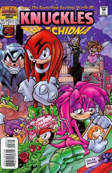 archie knuckles  echidna issue  mobius