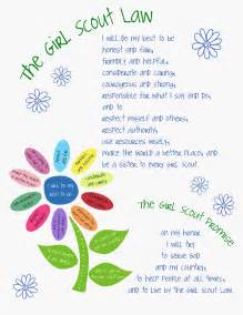 Daisy Girl Scout Law Printable