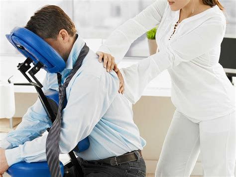 massaging office desk chair massage chair what is a chair massage another name why