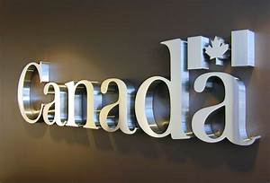 3d metal signs metal signs office sign wall sign With sign letters canada