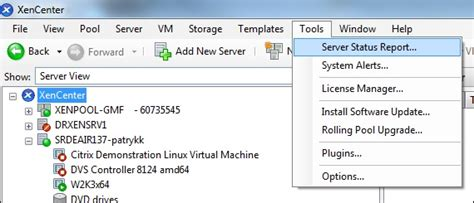 How To Collect Diagnostic Information For Xenserver
