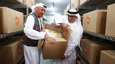 uaes  food bank launches  dubai  bid   needy  reduce waste  national