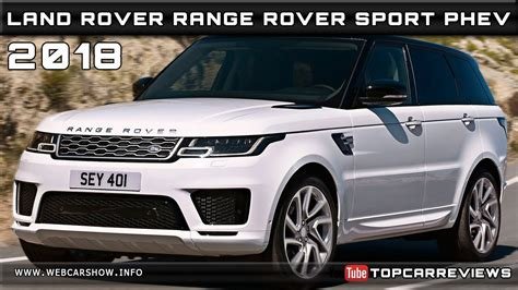 2018 Land Rover Range Rover Sport Phev Review Rendered