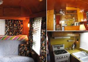 Home Mobile Vintage Trailer Interior