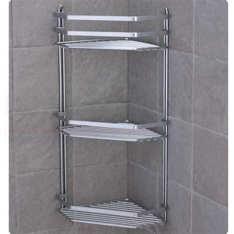 3578 shower caddy basket details about chrome satina hanging rectangle corner
