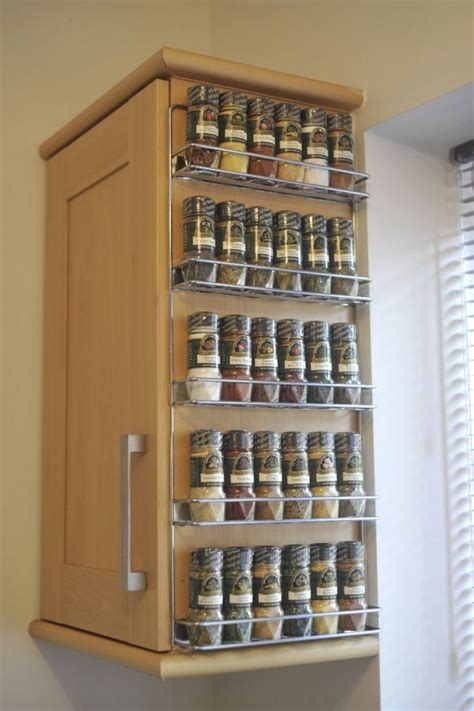 Silver Spice Rack by Best 25 Hanging Spice Rack Ideas On Spice