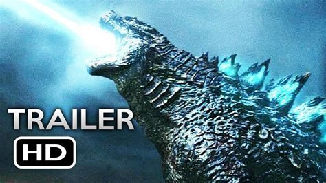 GODZILLA 2 Official Trailer 2 (2019) King of the Monsters