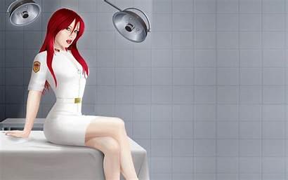 Nurse Redhead Tablet