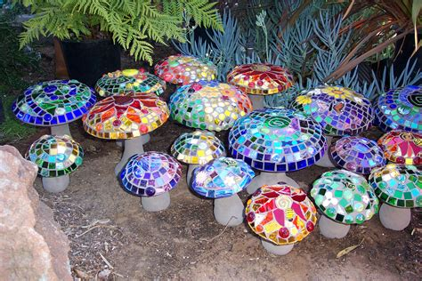 Mosaic Garden Art  Passiflora Mosaics  Fred & Donnell Pasion