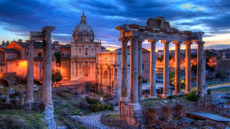 Roman Forum (Forum Romanum) wallpaper - backiee