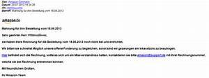 Rechnung Per E Mail : watchlist internet gef lschte mahnungen von amazon in umlauf ~ Themetempest.com Abrechnung