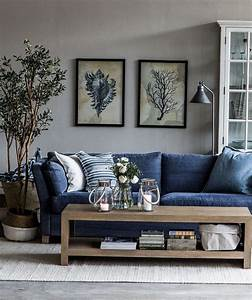 best 25 blue couches ideas on pinterest navy blue sofa With blue sofa living room design