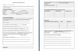 Free Blank Job Application Form | Search Results ...