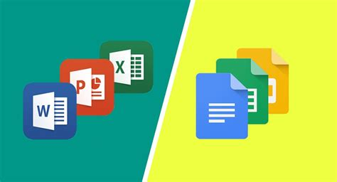 microsoft office vs google docs features and