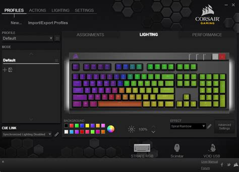 corsair announced new rgb keyboards mice and headsets