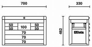 Beta C23SC 8 Drawer Portable Tool Chest / Top Box Orange