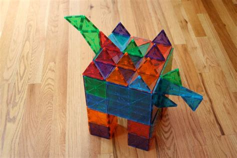 Picasso Magnetic Tiles Australia by Construct A Stegosaurus With Magna Tiles How Is Your