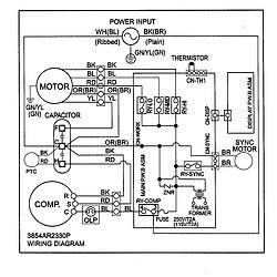 goldstar kg8000r air conditioner room genuine parts