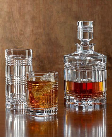 Whiskey Barware by Ralph Barware Glen Plaid Collection