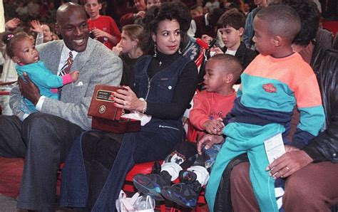 michael jordans wife  birth  twin daughters