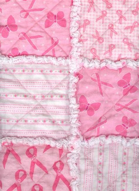 breast cancer awareness rag quilt  towodi