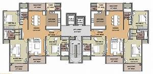 Apartments architecture excellent 2 typical luxury for Apartments floor plans
