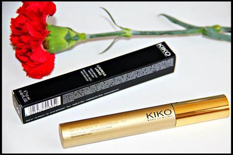 kiko luxurious lashes maxi brush mascara silkyreshs