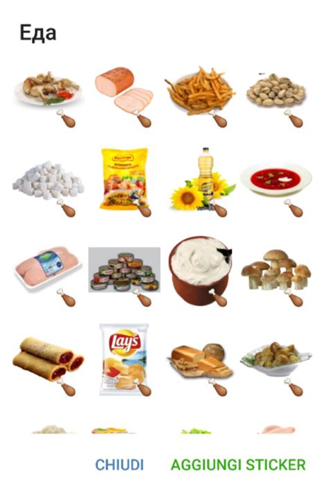cuisine stickers food stickers telegram