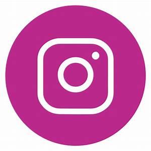 Icône Cercle,instagram,reseau social Gratuit de Social ...