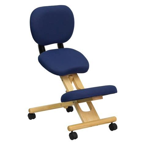 ergonomic kneeling desk chair flash furniture wooden ergonomic kneeling posture office
