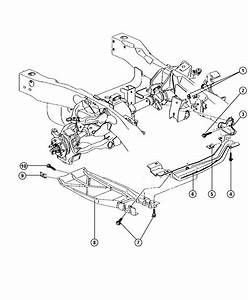 Dodge Ram 2500 Crossmember  Skid Plate  Front Axle  Plepic