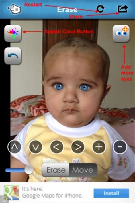 app that changes eye color change eye color in photos using eye colorizer for iphone