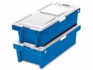 Bac Plastique Avec Couvercle : bac de cri e 890x560x235 plein avec couvercle contact ~ Edinachiropracticcenter.com Idées de Décoration
