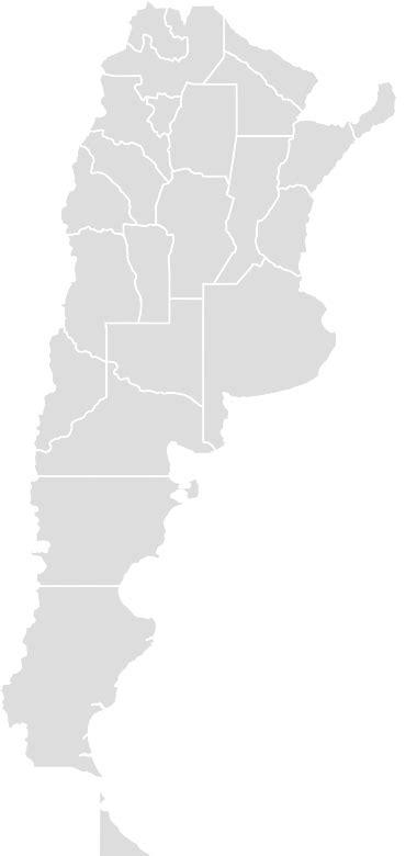 argentina blank map maker printable outline blank map