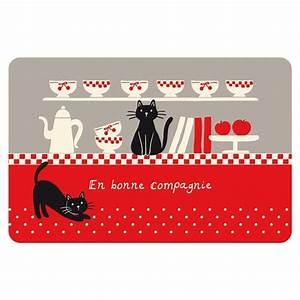 Set De Table Chats En Bonne Compagnie Derrire La Porte