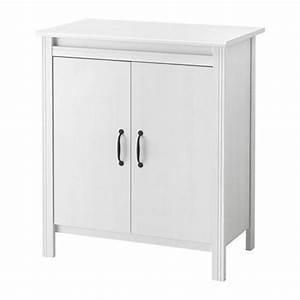 Ikea Brusali Nachttisch : brusali cabinet with doors white ikea ~ Watch28wear.com Haus und Dekorationen