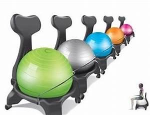 Fauteuil Salon Pour Mal De Dos : chaise ergo ball anti mal de dos ~ Premium-room.com Idées de Décoration