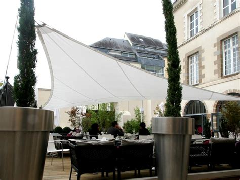 shade sails shape  outdoors   architectural
