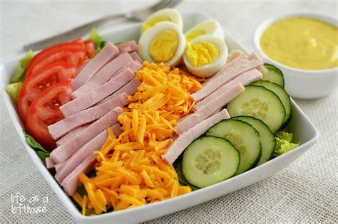 chef salad chef salad with honey mustard dressing