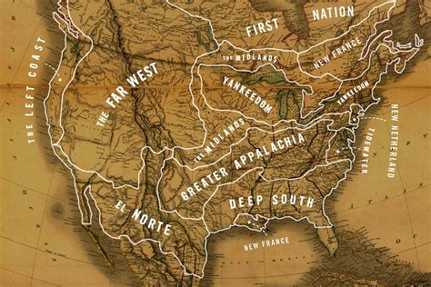 culture  geography divided  united states