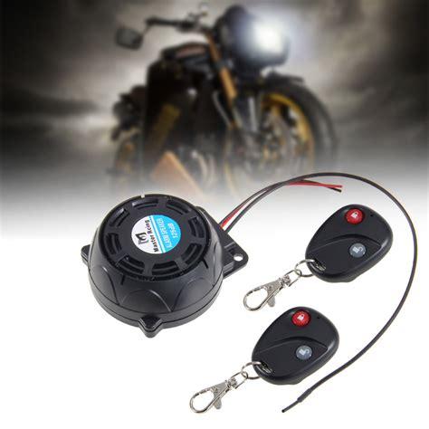 Carchet Motorcycle Alarm Remote Controls Anti Theft