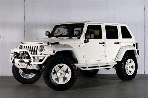 custom jeep white custom white jeep wrangler unlimited www imgkid com