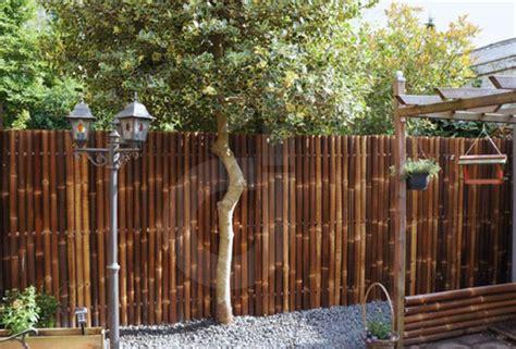 Sichtschutz Garten Bambuszaun by Sichtschutz Aus Bambus Gartenzaun Bambuszaun Zaun
