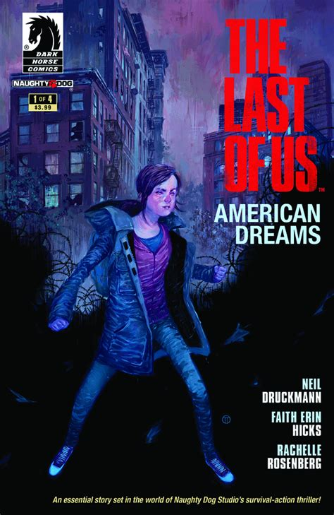 Previewsworld Last Of Us American Dreams 1 Of 4 3rd