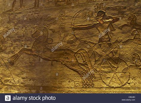 Egyptian Art Great Temple Of Ramses Ii Ramses Ii In A