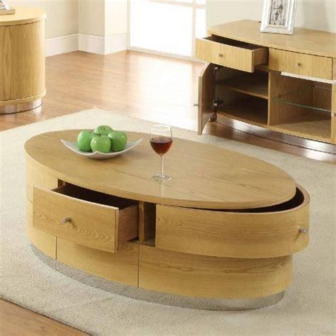 Paspauskite nuotrauką, kad ją padidintumėte. 40 Photos Light Oak Coffee Tables With Drawers   Coffee Table Ideas