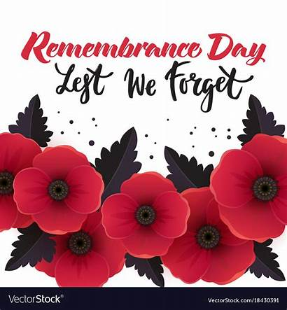 Remembrance Poster Vector Royalty Vectors