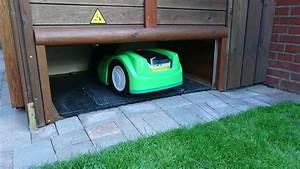 Rasenroboter Garage Selber Bauen : garage rasenm her roboter viking imow 422 tor runter youtube ~ Eleganceandgraceweddings.com Haus und Dekorationen