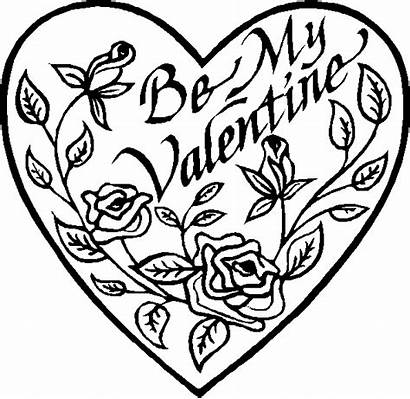 Valentine Coloring Pages Printable Heart