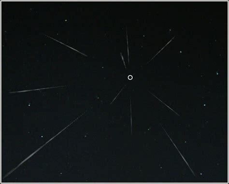 radiant meteor shower wikipedia